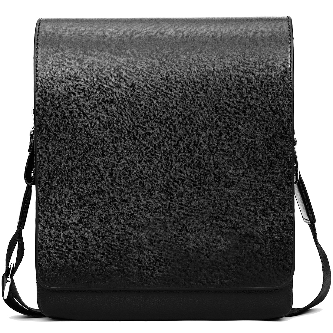 2019 New Leisure Business Shoulder Bag Large Capacity Wear-resistant Multifunctional Fashion Soft Leather Men's Briefcase