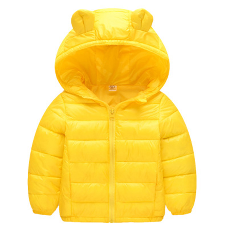 Fashion Autumn Winter Warm Jackets For Girls Boys Lightweight Hooded Coat Outerwear Teenage Parka Casual Children Clothes CL2085