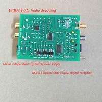 5 3 CSR8675 APTX HD Bluetooth 5.0  Fiber  Coaxial 3-Channel Input Decoder PCM5102A DAC Audio Decoding 8-15V DC (5)