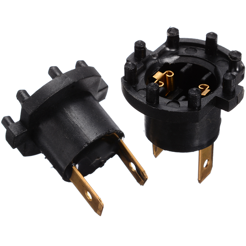 Brand New 2PCS Headlight Socket Plug Connector Adapter Bulb Holder For Mazda 3 5 323 For Kawasaki For Aprilia