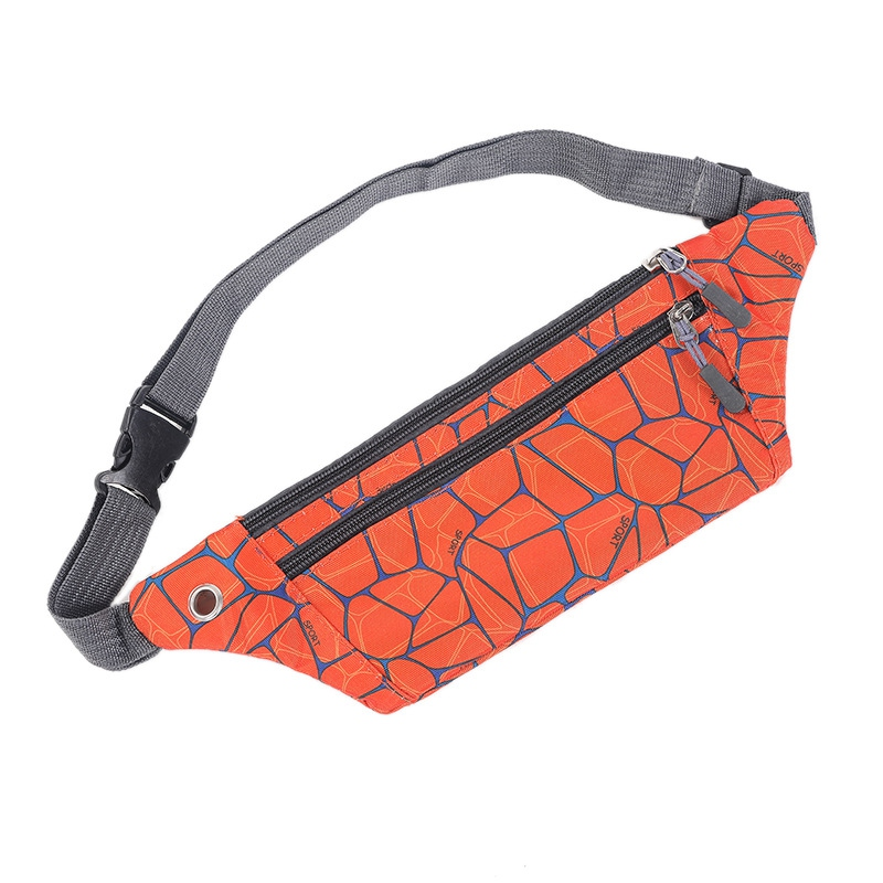 Sport Running Waist Bag Breathable Fashion Sport Jogging Pack Cycling Phone Pouch Lightweight Belt Wallet OutdoorHip Bum Pack