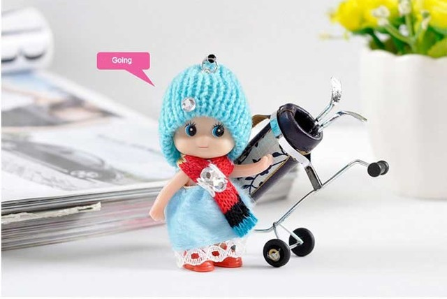 2019 New  1Pcs Kids Toys Soft Interactive Baby Dolls Toy Mini Doll For girls and boys Dolls & Stuffed Toys Free Shipping 5
