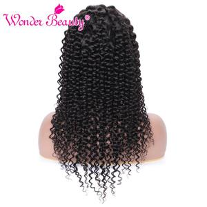 Image 5 - Kıvırcık insan saçı peruk kadınlar için merak güzellik malezya 150% Remy saç peruk ön koparıp Hairline ile bebek saç 13*4 HD dantel ön