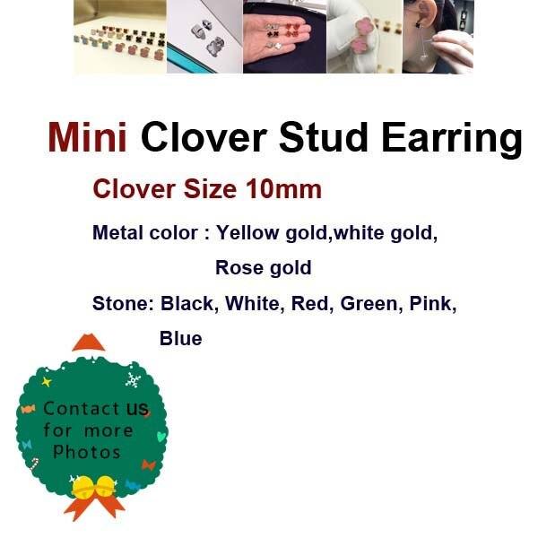Élégant boucle d'oreille de marque chaude femmes en argent Sterling 925 ensemble multicolore pierre naturelle Bijoux originaux de haute qualité 10mm/15mm
