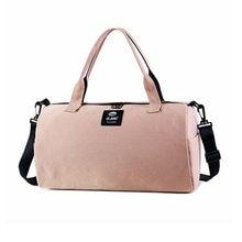 Спортивная сумка для женщин и девушек розовая водонепроницаемая