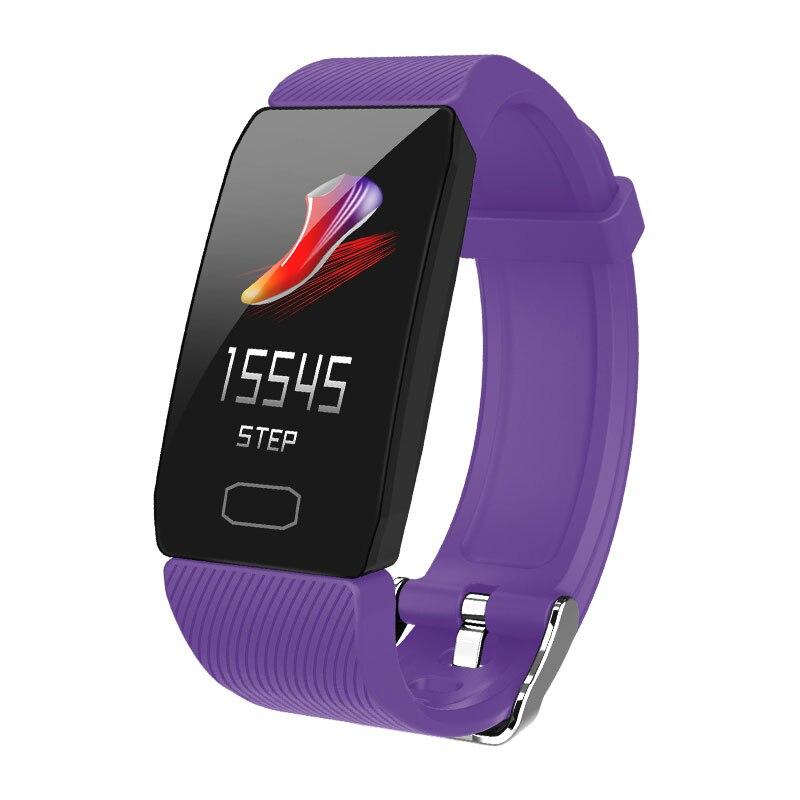 H5a60fb66bc5141cb890df07461f874cbf Fitness Bracelet Blood Pressure 1.14'' Screen Fitness Tracker Smart Watch Waterproof Smart Wristband Weather Display Women Men