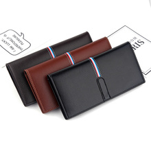 New Men's Leather Wallet European and American Soft Leather Business Clutch Multifunctional Card Holder Ultra Soft Leather Walle