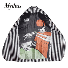 Mythus Waterproof Hairdressing Cape Cloth Anti Static Hair Salon Haircut Barber Gown For Barberman Cutting