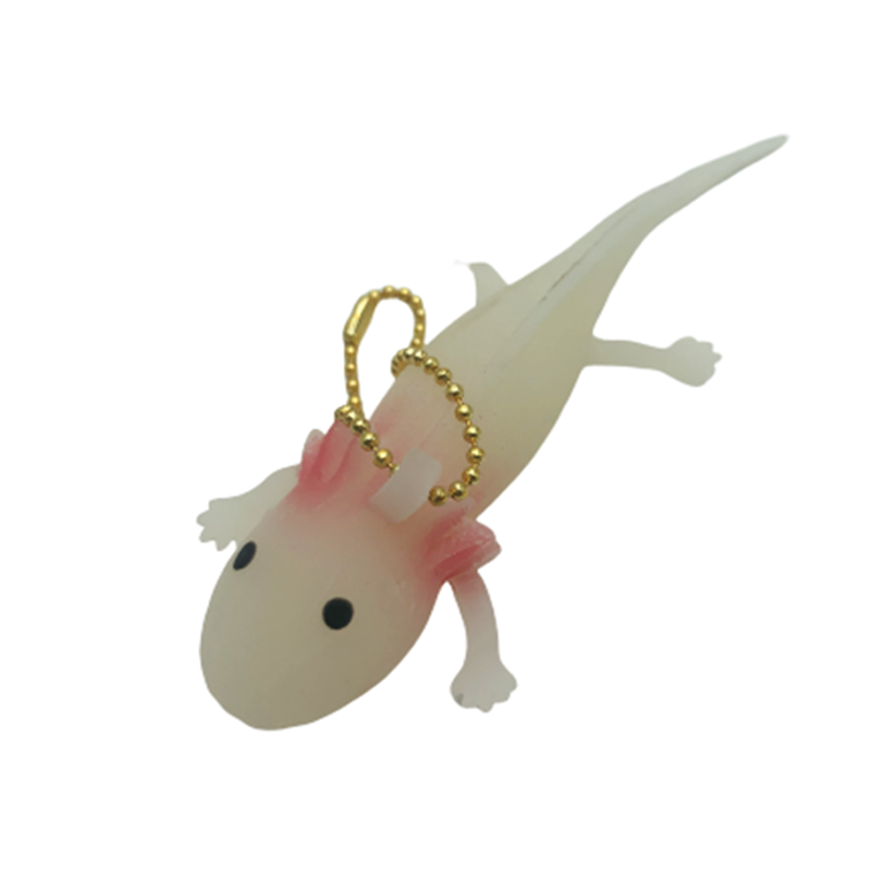 Funny Keychain Antistress Squishy Fish Giant Salamande Stress Toy Funny Squeeze Prank Joke Toys For Girls Gag Gifts Brinquedo