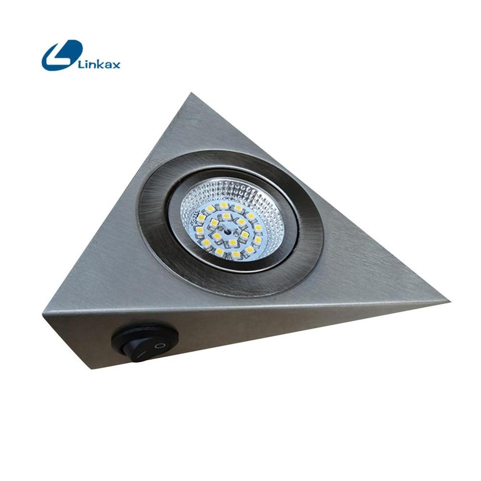 Triangle Led Light Wall Lamp Mains Kitchen Cabinet Wardrobe Cupboard Light Kit Spot Light For Home White Warm White Lighting Under Cabinet Lights Aliexpress