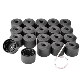 20Pcs 17mm Car Wheel Nut Auto Hub Screw Cover Protection Caps For BMW all series 1 2 3 4 5 6 7 X E F-series E46 E90 F09 image