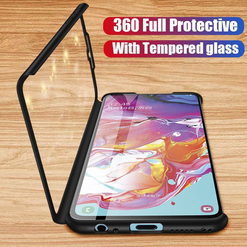 360 Full Cover Shockproof Case For Samsung Galaxy A50 A70 A10 A20 A20e A30 A40 A60 Cover S8 S7 S9 S10 S10e Note 8 9 10 Plus Case