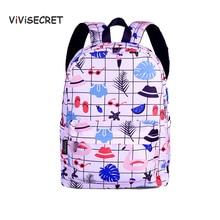 Cartoon Kitten Strawberry Girls Printing Kids school bags Ultralight Children Backpacks for Kindergarten School Backpack mochila все цены