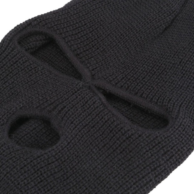 Black Mask Thinsulate Winter Sas Style Army Ski Knitted Neck Warmer One Size Fits Most For winter activities Hot 2
