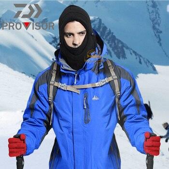 Winter DAIWA Fishing Mask Men's Outdoor Warm and Windproof Cycling Headgear Polar Fleece Face Protection Bib Fishing Hat 6