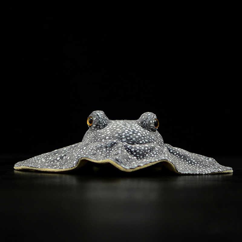Cuộc Sống thực Manta Ray Sang Trọng Đồ Chơi Động Sống Động Vật Biển Cá Đồ Chơi Nhồi Bông Tổ Ong Cá Đuối Búp Bê Thêm Mềm Mại Đồ Chơi Quà Tặng trẻ em