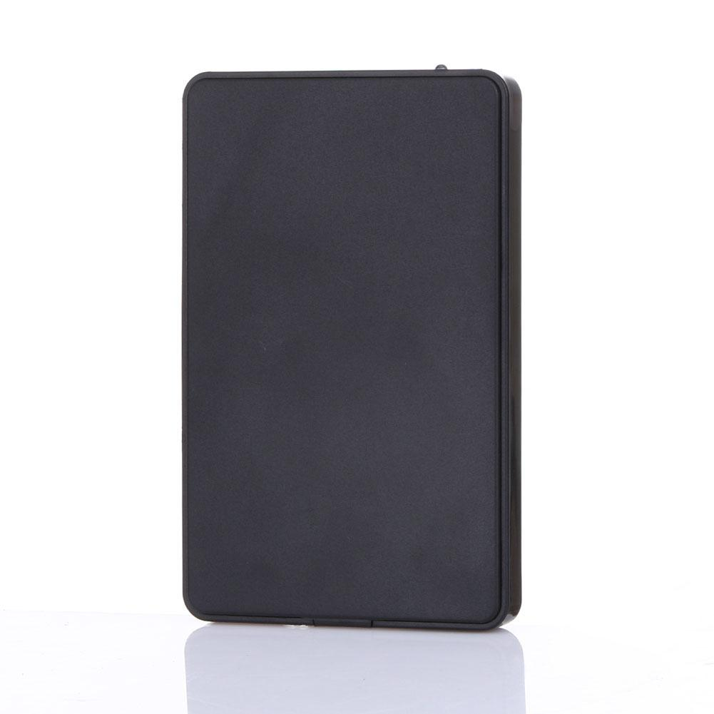 <font><b>HDD</b></font> Case Portable <font><b>2.5</b></font> inch <font><b>HDD</b></font> <font><b>Enclosure</b></font> USB 2.0 External Hard Disk Caddy Sata to USB Hard Disk Drive Box with USB Cable image
