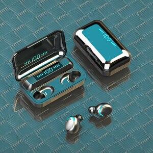 Image 5 - F9 TWS Bluetooth sans fil écouteur 5.0 casque tactile contrôle écouteurs étanche stéréo musique casque avec batterie externe HD Mic