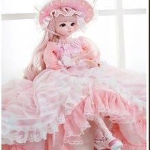 Кукла шарнирная 60 см 18 подвижных шарниров