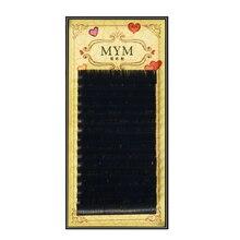 Высококачественные норковые ресницы QSTY, индивидуальные ресницы для наращивания, натуральные ресницы, накладные ресницы, 1 чехол