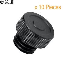 10Pcs ABS Mounting Cap Pipe Close End M12 Thread for 15mm Cheese Rods Protector SLR Cameras Slide Rail Support System Photograph