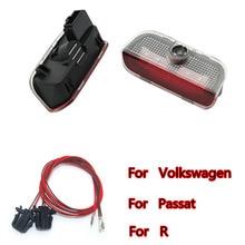 2X For Volkswagen Golf 5 6 7 MK5 MK6 MK7 Tiguan Passat B6 B7 CC Sharan Car LED Logo Light Door Projector Welcome Lights