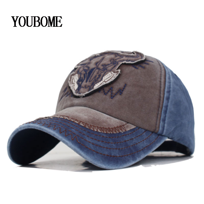 Solid Denim Falt Jeans Men Baseball Cap Snapback Caps Women Washed Plain Casquette Bone Dad Hats For Men Gorras Baseball Hat Cap