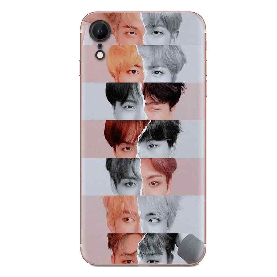 Para galaxy grand a3 a5 a7 a8 a9 a9s on5 on7 plus pro star 2015 2016 2017 2018 tpu padrão caso capa coreano popular kpop equipe