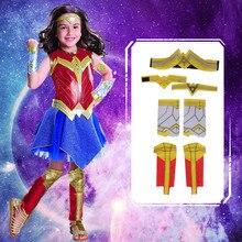 Deluxe çocuk adalet şafak merak kadın kostümü