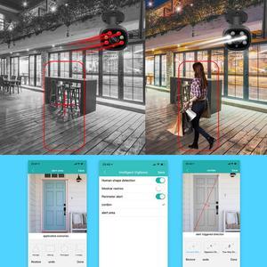 Image 2 - BESDER H.265 1080P WIFI IP Ai Phát Hiện TF Khe Cắm Ngoài Trời 2MP Camera Không Dây Âm Thanh Màu Tầm Nhìn Ban Đêm An Ninh camera quan sát
