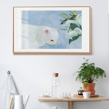 Cute Colored Drawing Animal Cat And Horse Canvas Wall Pictures Fashion Picture For Living Room Kids Home Decor cuadros