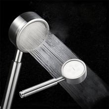 Pressurized Nozzle Shower Head stainless steel Bathroom Accessories High Pressure Water Saving Rainfall Chrome Shower Head 10 inch stainless steel 304 super thin head shower 25 25cm shower head bathroom water saving shower head rainfall shower