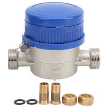 TS S3002E BSP 1/2 Mechanical Cold Water Meter with Pointer Measuring Tools for Home
