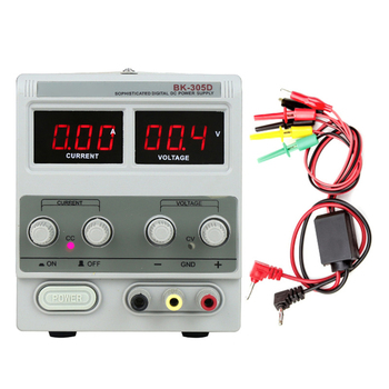 BK-305D DC Stabilized Power Supply Notebook Mobile Phone Repair 30V 5A USB Display Digital Regulated Power Supply 110V/220V all new digital kxn 305d high power switching dc power supply 0 30v voltage output 0 5a current output