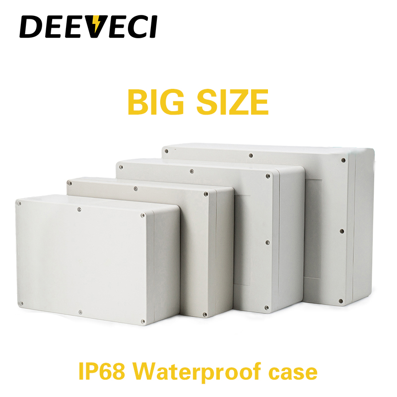BIG size Outdoor Waterproof Enclosure Plastic Box Electronic Project Instrument Case Electrical Project Box Junction Box Housing