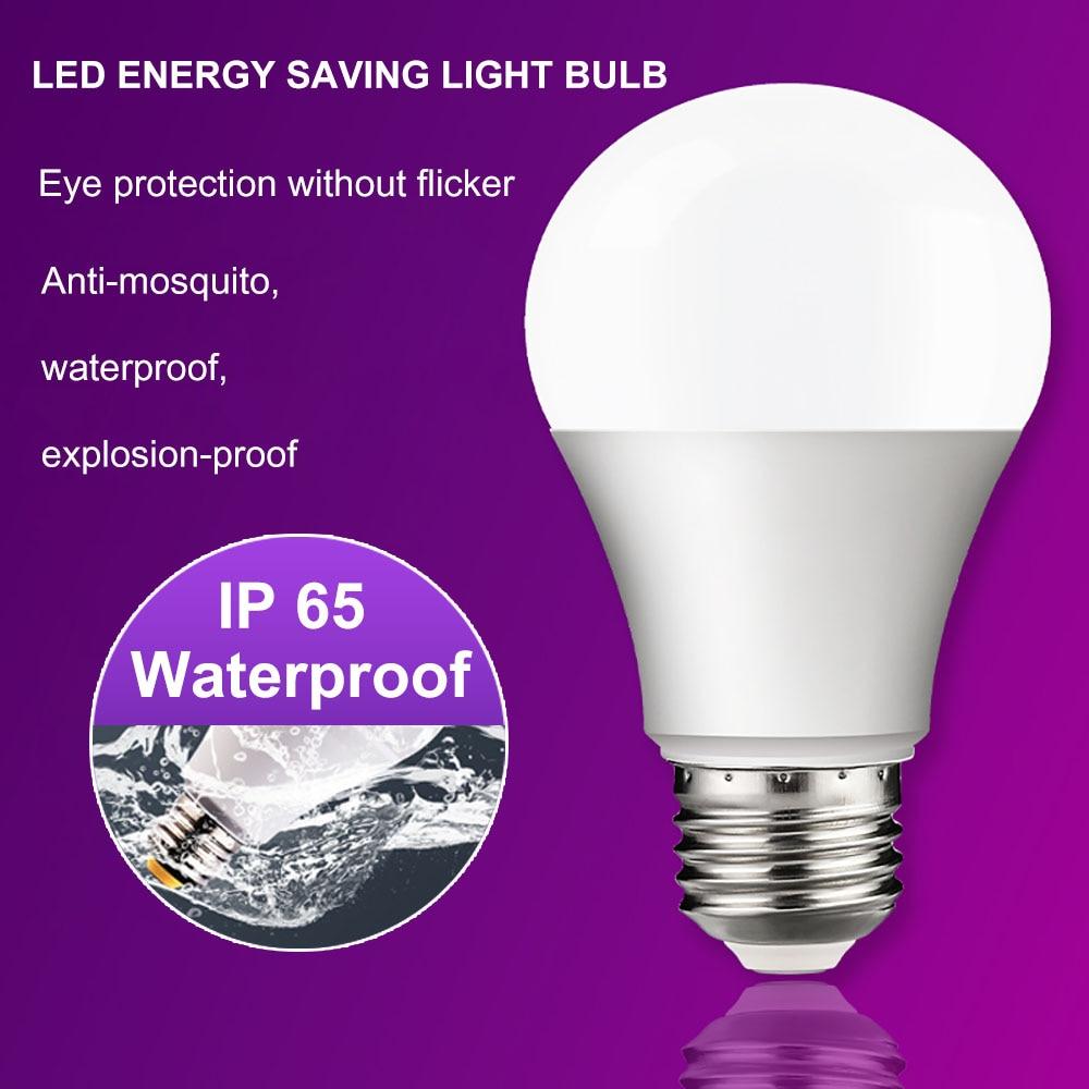 Super bright E27 E14 LED Bulb Lamps 3W 6W 9W 12W Lampada LED Light Bulb AC 220V 230V 240V Bombilla Spotlight Cold/Warm White