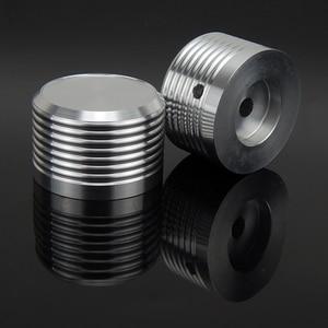 Image 2 - אלומיניום נפח ידית 1pcs קוטר 38mm גובה 25mm מגבר פוטנציומטר knob