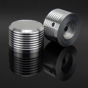 Image 2 - Botão de volume de alumínio 1 pces diâmetro 38mm altura 25mm amplificador potenciômetro botão