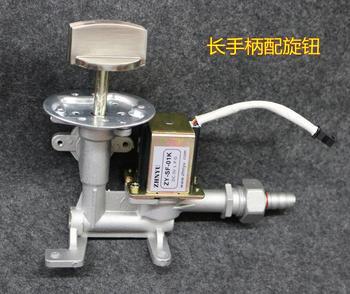 Steamed furnace 3V solenoid valve barrel fire regulating valve soup soup stove switch steam furnace inlet valve assembly parts