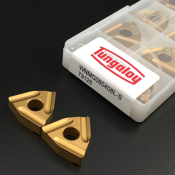 10pcs WNMG080408 L S T9125 High Quality Carbide Inserts External Turning Tool WNMG 080408 Hard Alloy CNC Lathe Tools For Steel