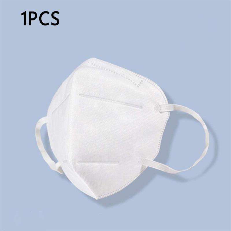 1 PCS/ Set Disposable KN95 Masks Adjustable Nose Clip High Quality Anti-fog Mask Breathable Elastic Straps For Men Women
