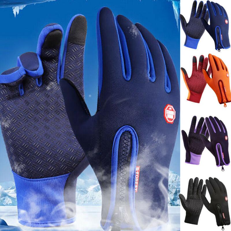 Winter Warm Men Women Touch Screen Windproof Waterproof Outdoor Sport Driving Gloves Skiing Product