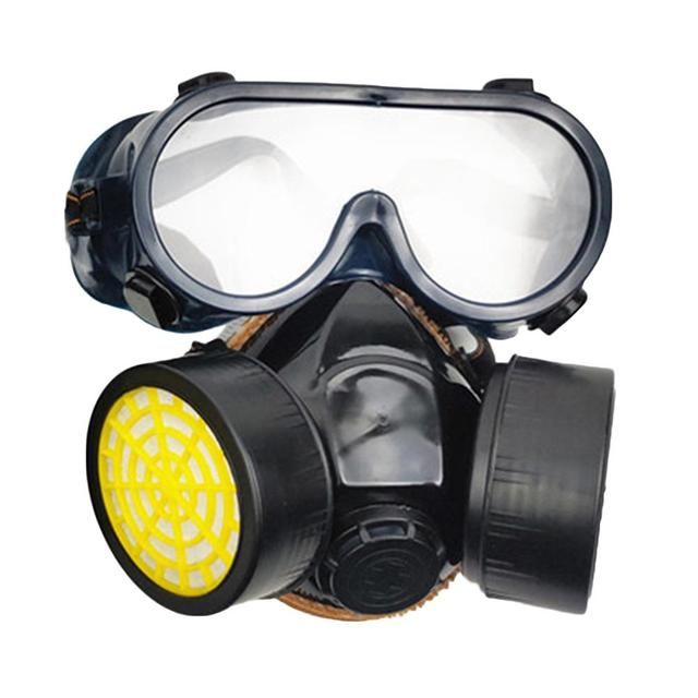 Protective mask Anti flu Anti Virus Mask Anti Dust Face Gas Mask Respirator for Painting Spraying Laboratory Chemistry