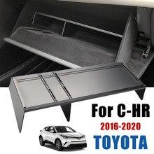 Co-piloto caixa de armazenamento acessórios do carro caixa de luva chr intervalo arrumação caixa de armazenamento para toyota C-HR 2016 2017 2018 2019 2020