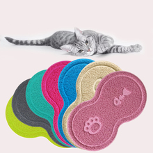 2020 New Pet Dog Cat Litter Mat Feeding Puppy Kitty Dish Bowl Placemat Tray Tidy Easy Cleaning Sleeping Pad Claw Hot