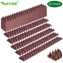 Hot selling 10M Plastic Bird and Pigeon Spikes Anti Bird Anti Pigeon Spike for Get Rid of Pigeons and Scare Birds Pest Control