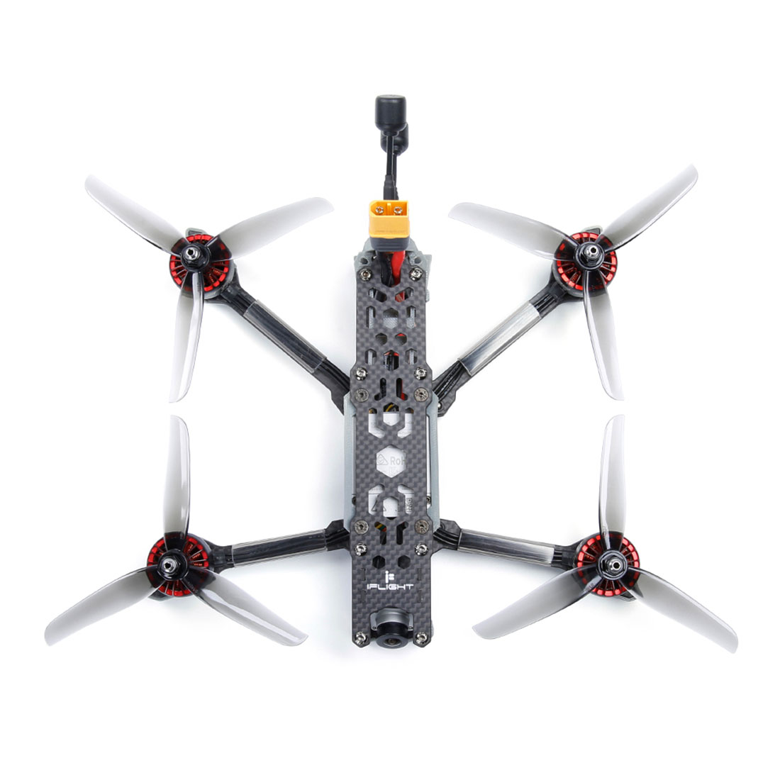Image 5 - iFlight TITAN DC5 5inch 222mm 4s/6s HD FPV Racing Drone BNF SucceX D F7 50A Stack XING E 2207 2450/1800KV Motor Helicopter ToyParts & Accessories   -