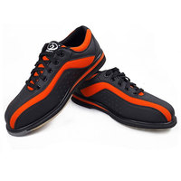 Women Lightweight Casual Bowling Shoes Breathable Soft Leather Training Sneakers Ladies Anti Skid Wearable Sports Shoes D0585