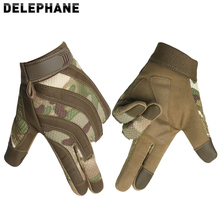 Full Finger Driving Gloves Touch Screen Hand Protective Motorcycle Gloves Men Women Winter Summer Shooting Fight Paintball