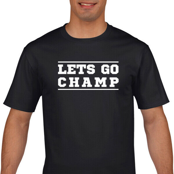 Shannon Briggs T Shirt - Lets Go Champ T Shirt - Boxing T Shirt image